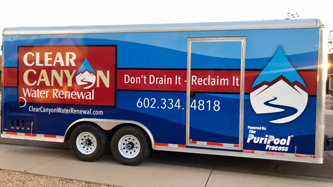 clear canyon water renewal trailer